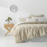 In2Linen Waffle Weave Pure Cotton European pillow Case I Linen