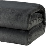 Mink Blankets Winter Weight Queen/King Size | Charcoal