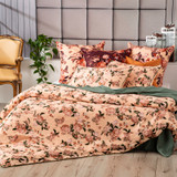 Renee Taylor Secret Garden Quilt cover Set 300 Thread Count 100% Cotton