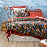 Renee Taylor Tropical Quilt cover Set 300 Thread Count 100% Cotton