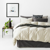In2Linen 500TC Bamboo Cotton Quilt Cover Set | Colour Linen