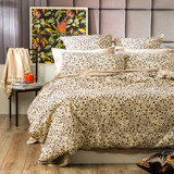 Renee Taylor Cotton Vintage Washed Quilt cover set | Leopard