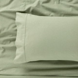 IN2LINEN Flannel Sheet Set Egyptian Cotton | Green