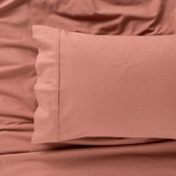 IN2LINEN Flannel Sheet Set Egyptian Cotton | Rust/Brick