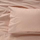 Harper Home Organic Cotton printed Sheet set Rosette| Peach