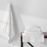 Turkish Cotton Towel Palm White