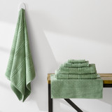 Turkish Cotton Towels Jaquard  Weave | Basil