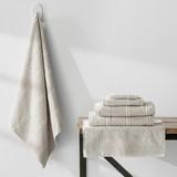 Turkish Cotton Towels Jaquard  Weave | Stone