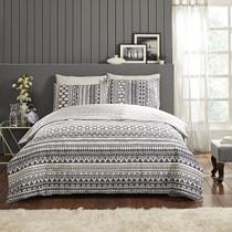 In 2 Linen Esta Super King Bed Quilt Cover Set