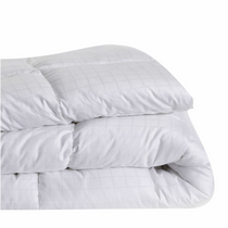 In 2 Linen Microfibre Double Bed Quilt 400GSM | All seasons