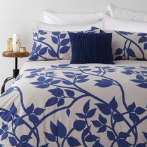 In 2 Linen Madison Blue Super King Bed Quilt Cover Set