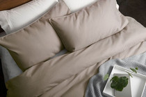 In 2 Linen Waffle Weave Linen European Pillowcase
