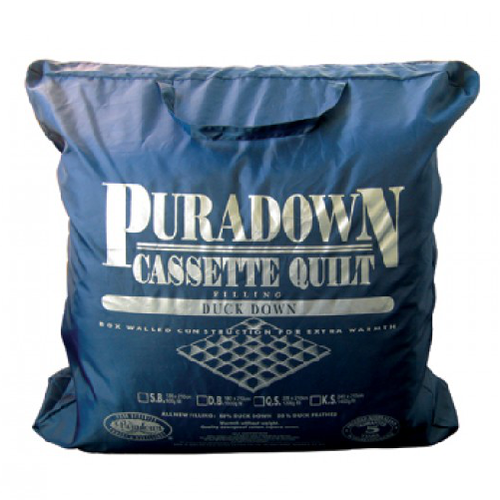 Puradown Duck Down Super King Quilt 80/20 | Warm