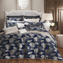DaVinci Paddington Navy Super King Bed Quilt Cover Set