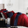 DaVinci Luxury Rossi Merlot Super King Bed Quilt Cover Set