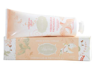 Lilly's Wish Hibiscus & Patchouli Hand & Nail Cream Aust Made Organic FREE POSTAGE*