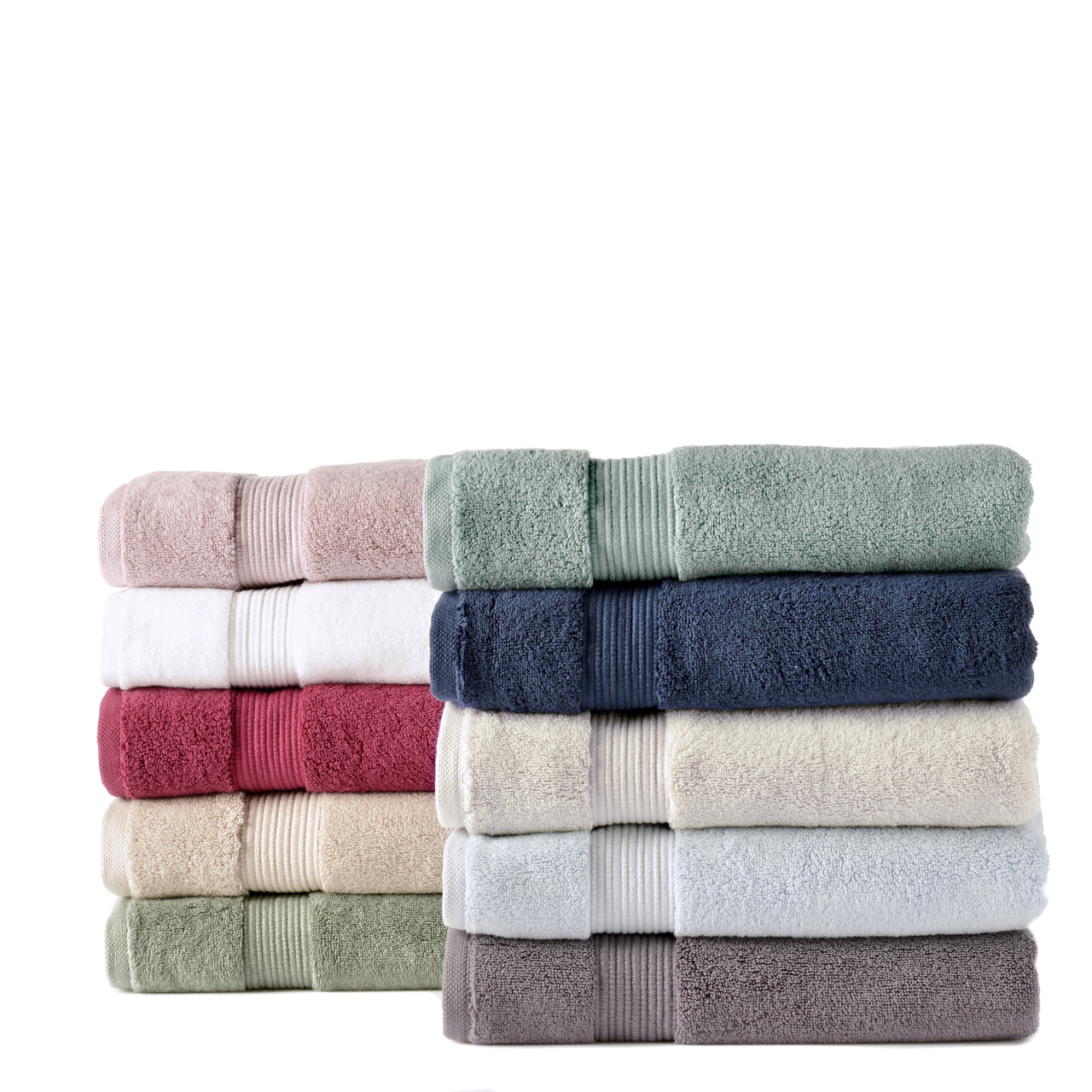 Our Zero Twist 650 gsm 100% cotton bath towels are soft and plush. They are colourfast and durable. The drying becomes more enhanced with every wash maintaing a soft and plush texture.  There are 10 beautiful colours to choose from all with matching accessories.