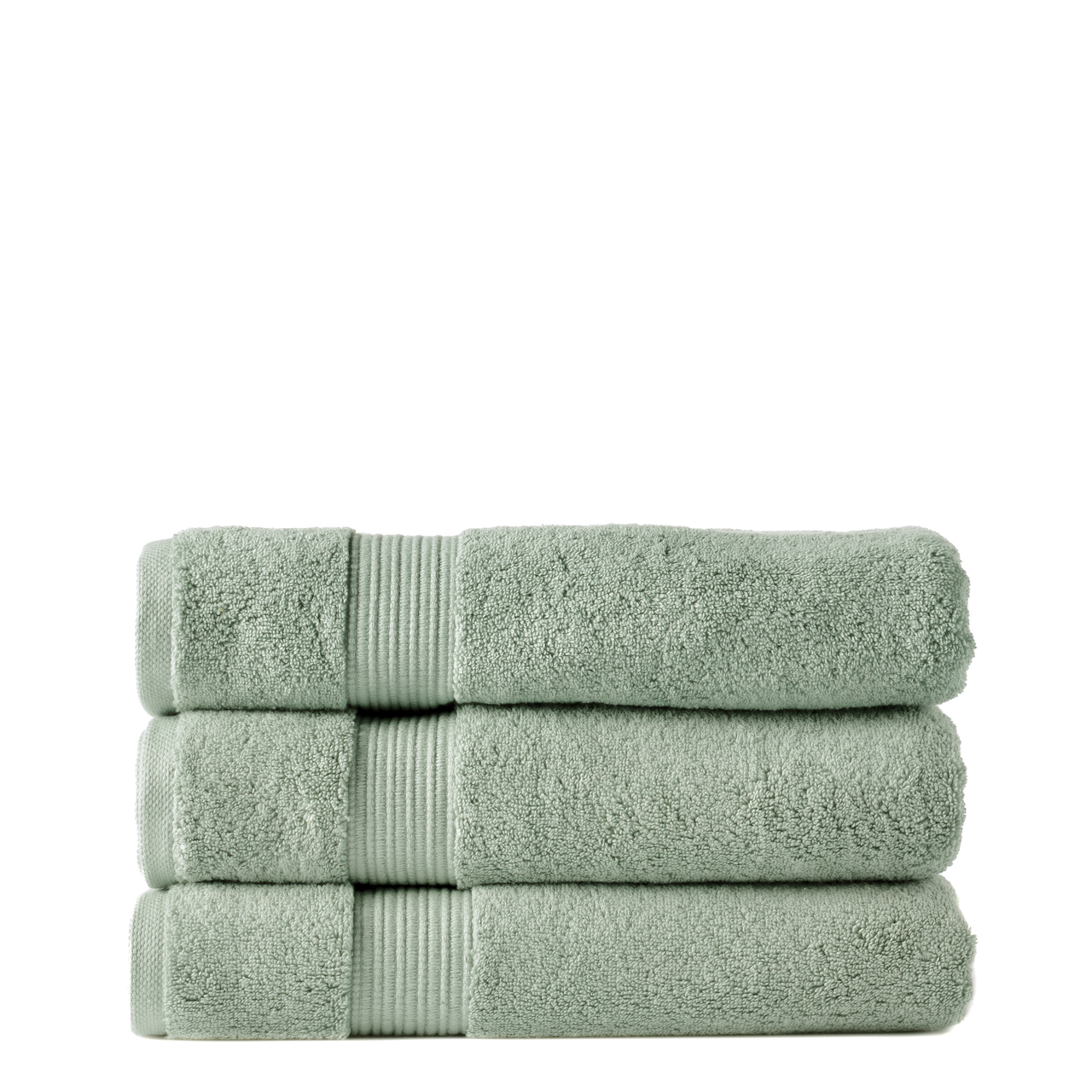Our Zero Twist 650 gsm 100% cotton bath towels are soft and plush. They are colourfast and durable. The drying becomes more enhanced with every wash maintaing a soft and plush texture.  Colour Eucalypt There are 10 beautiful colours to choose from all with matching accessories.