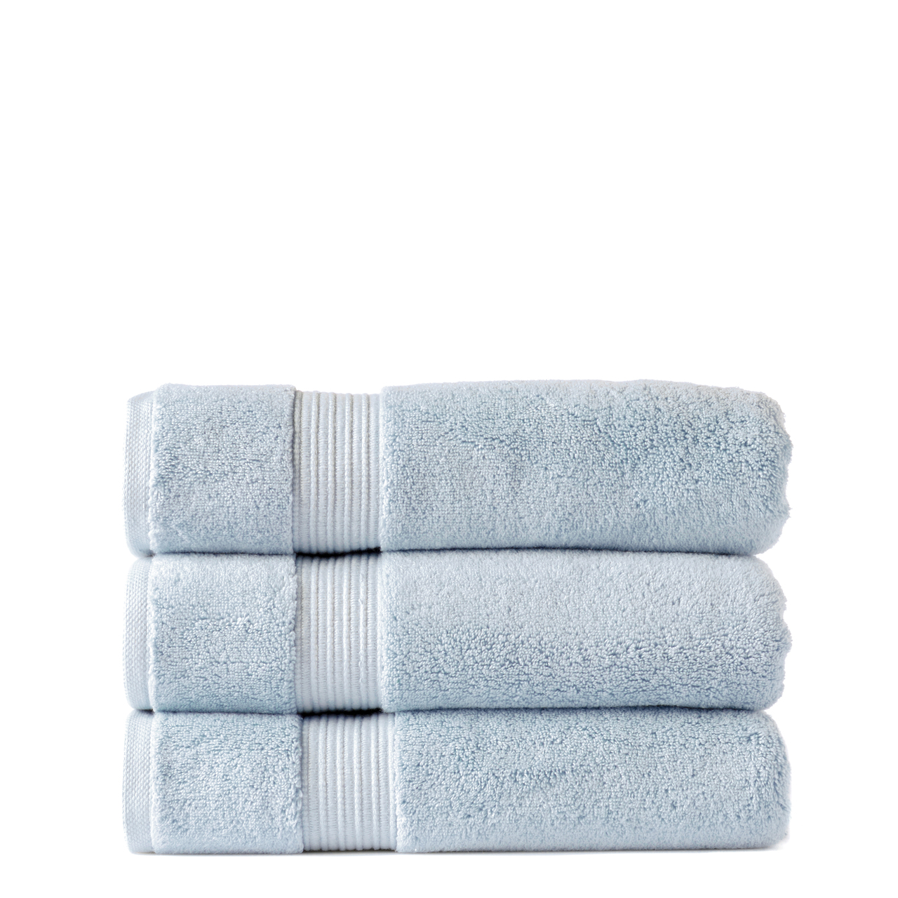 Our Zero Twist 650 gsm 100% cotton bath towels are soft and plush. They are colourfast and durable. The drying becomes more enhanced with every wash maintaing a soft and plush texture.  Colour Blue There are 10 beautiful colours to choose from all with matching accessories.