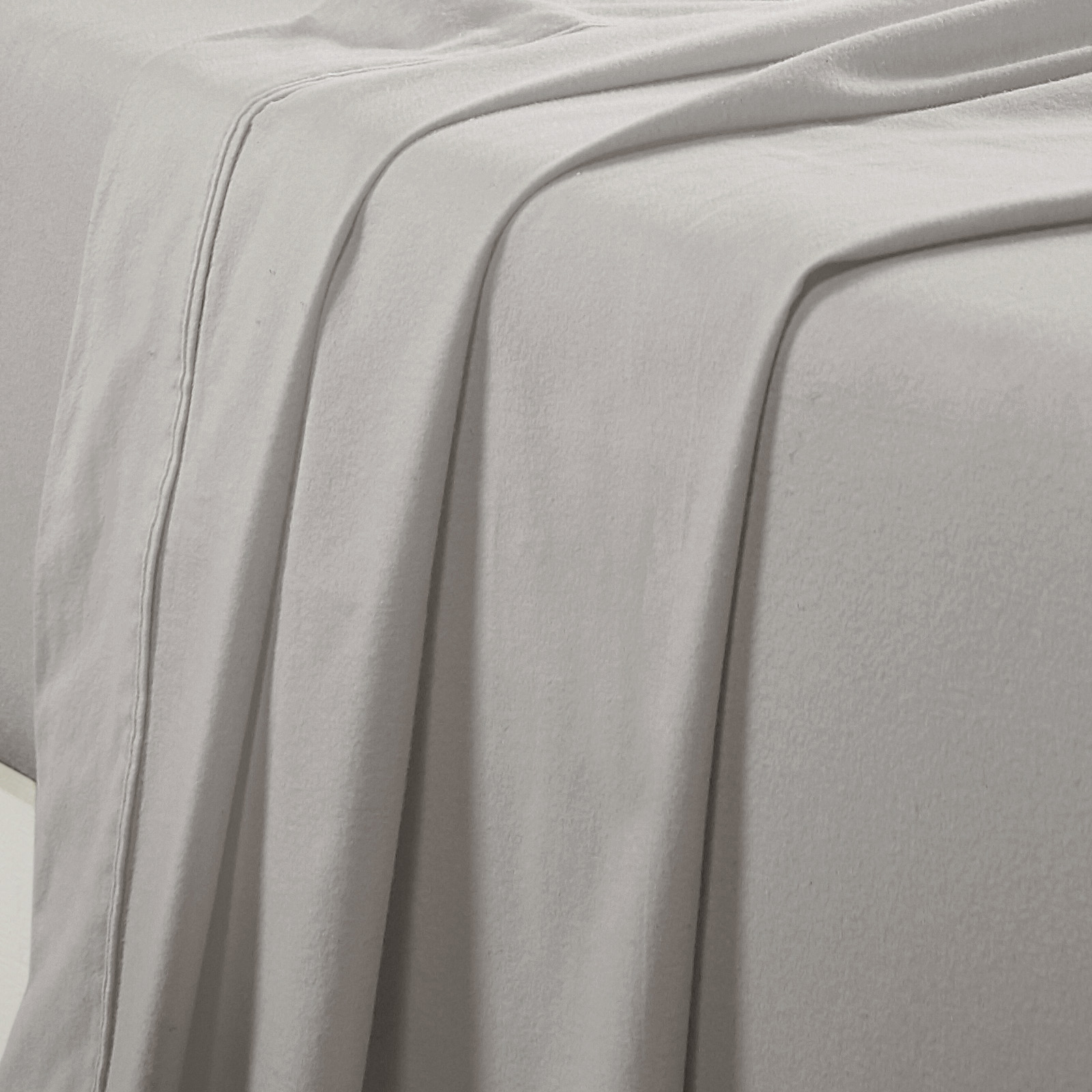 Flannel Sheet Set Egyptian Cotton 175 GSM Brushed - Colour Graphite - From $39.95