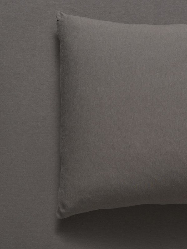Bamboo/Cotton Jersey Sheet Set Smoke