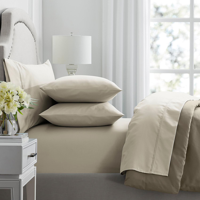 100% Aegean Cotton 600 Threads Sheet Set | Colour Linen