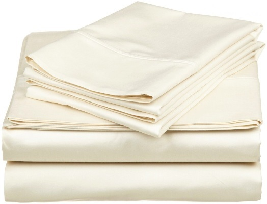 Shut Eye Queen Size  375 Thread Sheet Set - Ivory