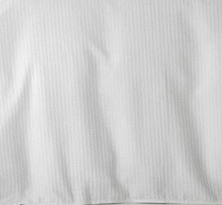 In2Linen Waffle Weave Pure Cotton European pillow Case I White