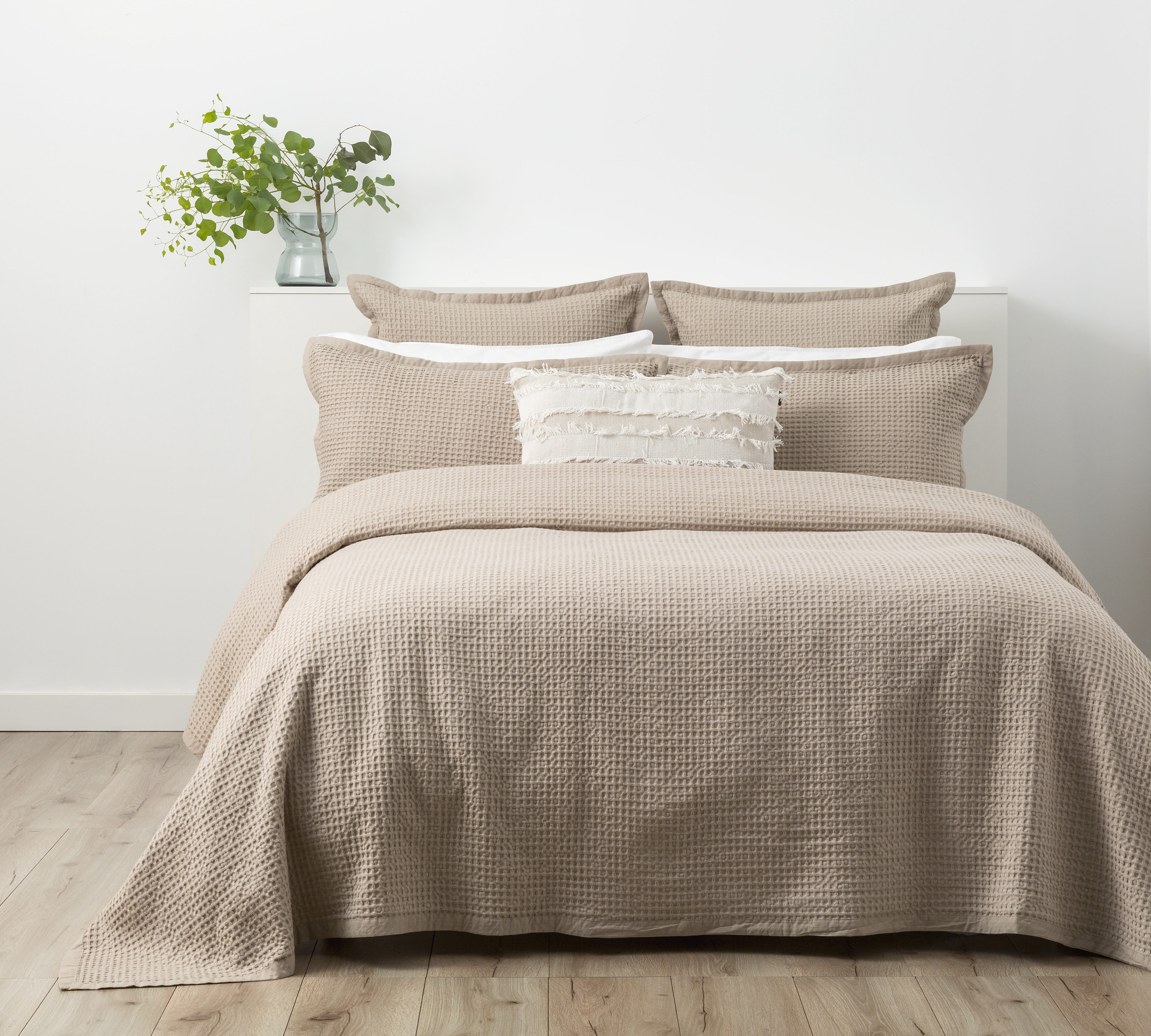 In2linen Waffle Blanket/Coverlette 100% Egyptian Cotton Soft wash |Linen