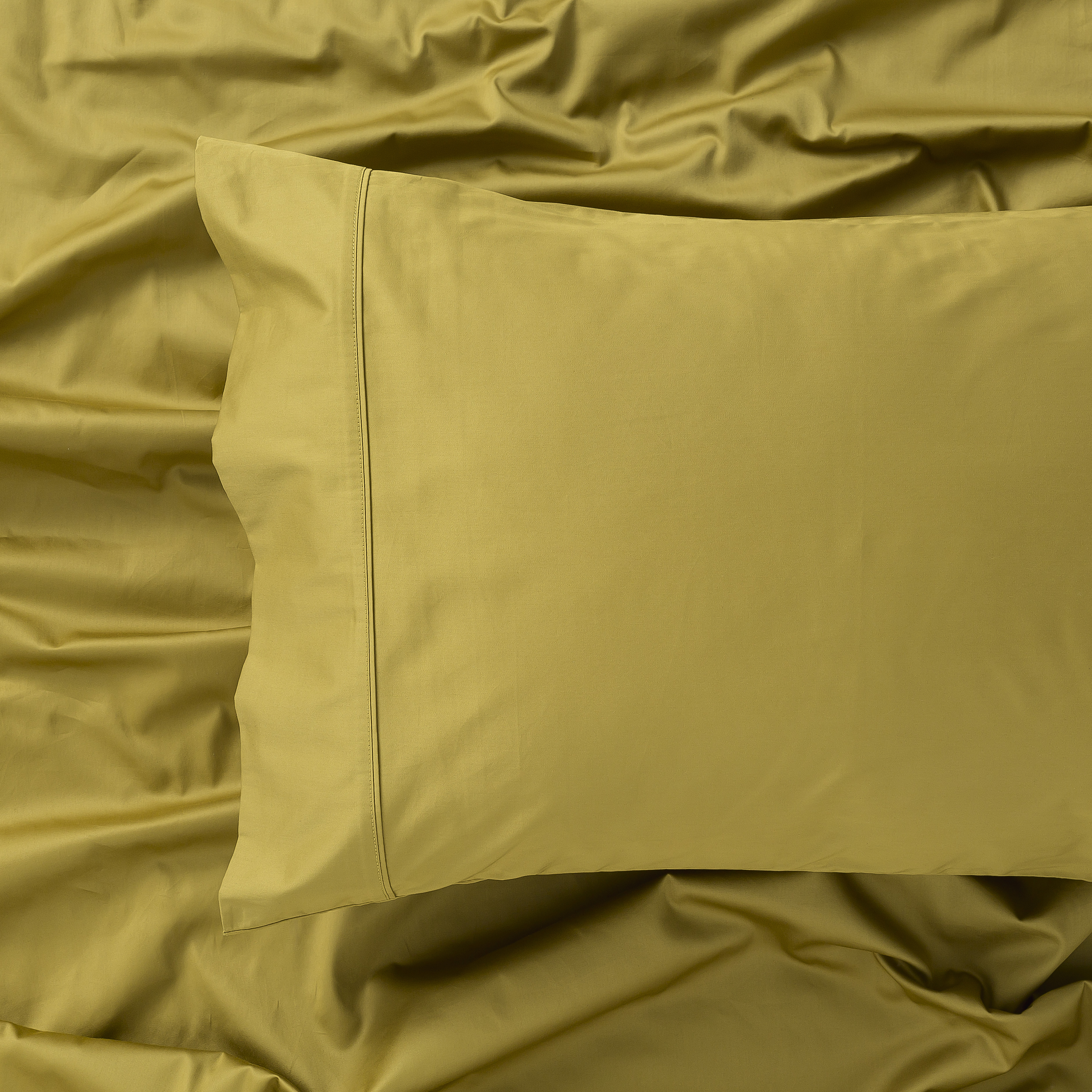 In2Linen 500TC Bamboo Cotton Sheet Set | Mustard