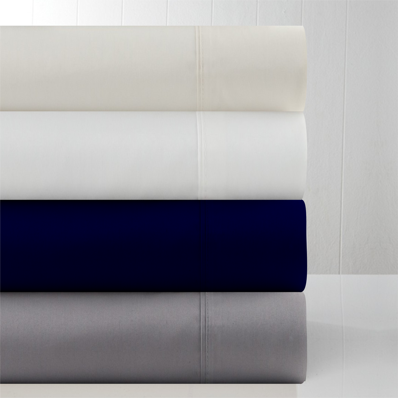 In2Linen Mega King 50cm Fitted Sheet 800TC Supima Cotton
