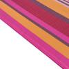 Lazy Daze Hammocks 13 FT Poolside Hammock with Textliene Fabric and Hardwood Spreader Bar ,Red and Orange Stripe