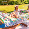 Quilted Fabric Hammock Swing