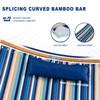Curved Bamboo Bar