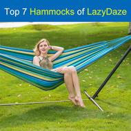 Top 6 Hammocks of Lazy Daze