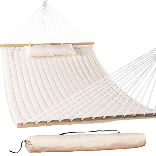 Quilted Fabric Hammock Swing,