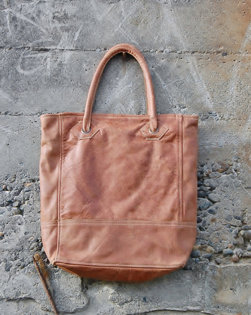 Leather Shoulder Tote