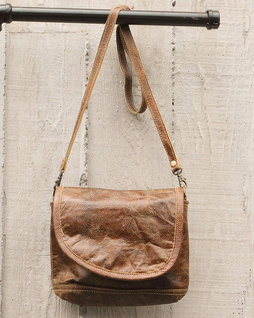 Walnut Leather Hipster