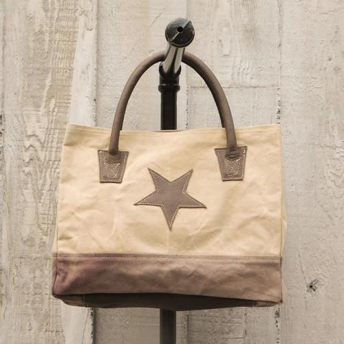 Taupe Star Shoulder Bag