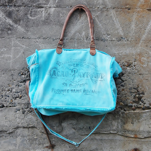 French Turquoise Weekender