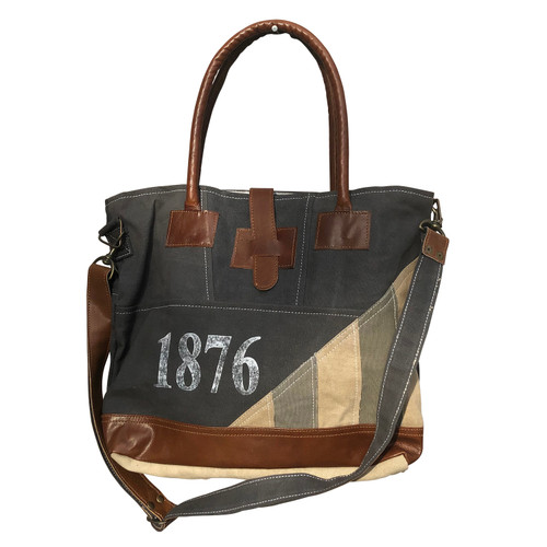 1876 Traveler Tote Bag