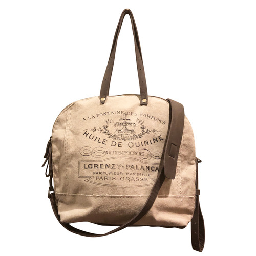 Lorenzy Canvas Tote Bag