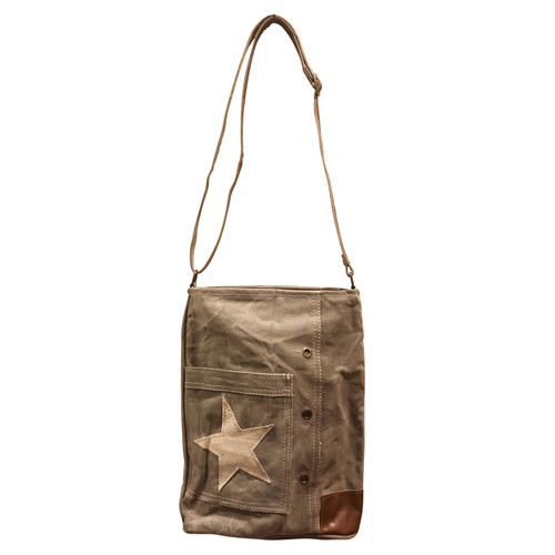 Canvas Star Pocket Bag