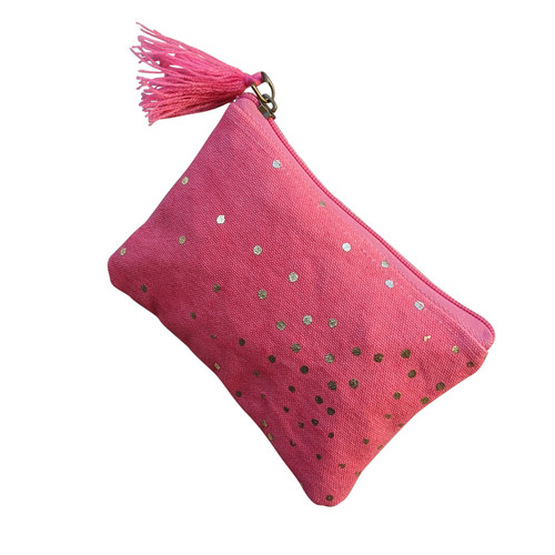Pink Sparkle Coin Purse