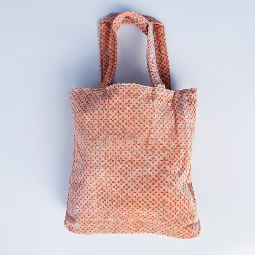 Soft Peach Tote Bag