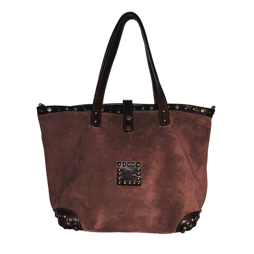 Soft Chocolate Brown Leather Handbag