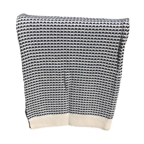 Alison Cross Knit Throw