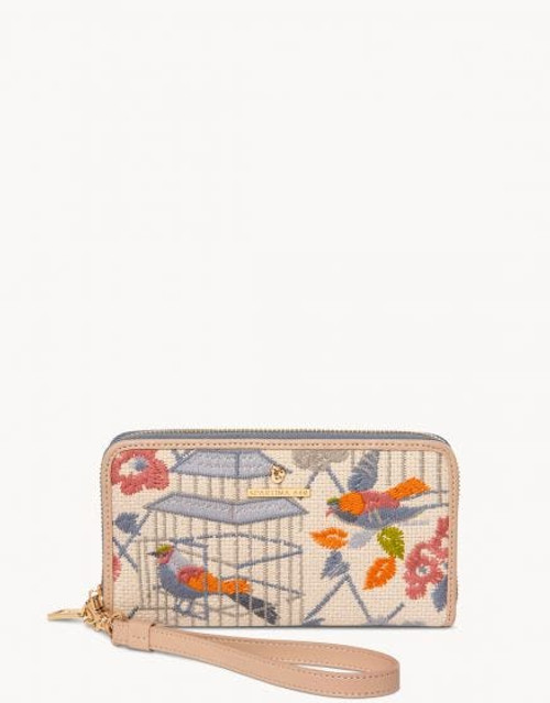 Songbird Embroidered 449 Wallet