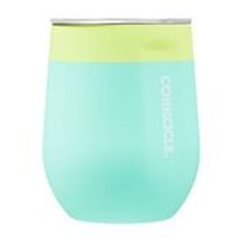 Color Block Soft Touch Stemless