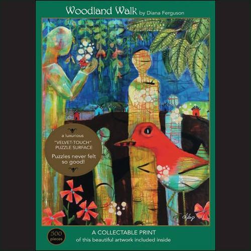 Woodland Walk Velvet Jigsaw Puzzle